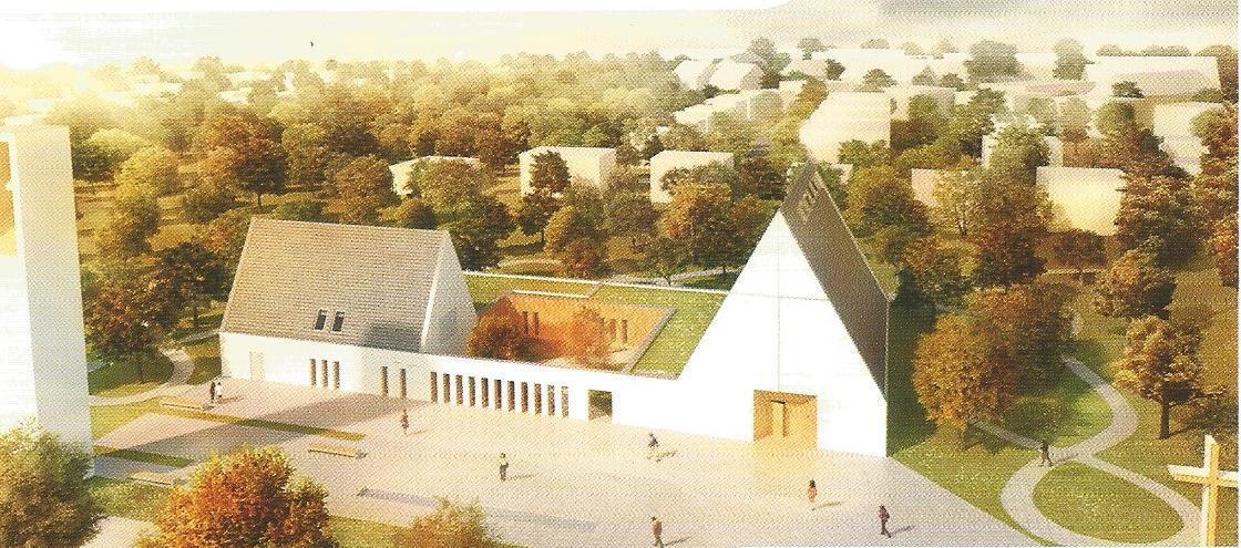 Budowa świątyni ku czci Boga Wszechmogącego i św. Moniki